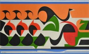 Nadir Afonso Painting