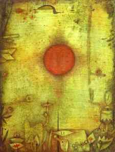 Paul Klee painting - Ad Marginem 1930
