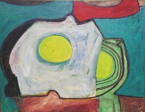 Beach Shadows- William Baziotes 1947