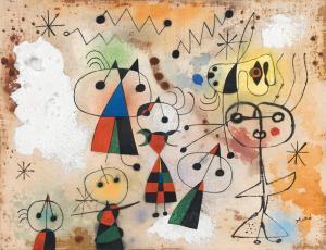 Joan Miró Painting