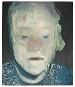 Marlene Dumas, The White Disease, 1985, oil on canvas,