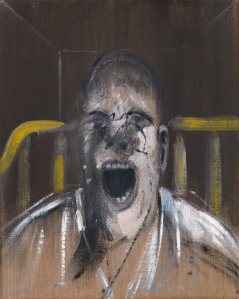 Study for the Head of the Screaming Pope- Francis Bacon 1952