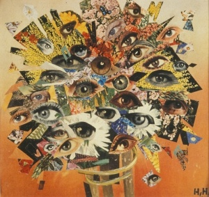 Bouquet of Eyes- Hannah Hoch
