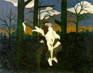 HORACE PIPPIN 1888-1946. Zachariah, 1943. Oil on canvas