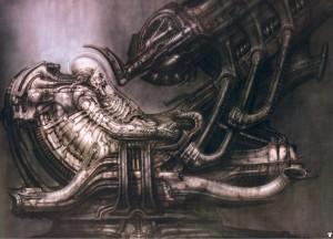 "H.R. Giger's ""A L I E N"" Artwork"