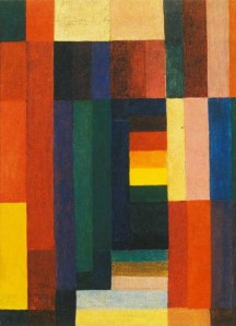Horizontal/Vertikal 1915- Johannes Itten