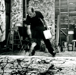 Pollock in action!