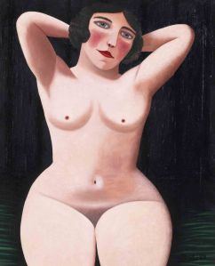 Le nu aux bras leves- Camille Bombois