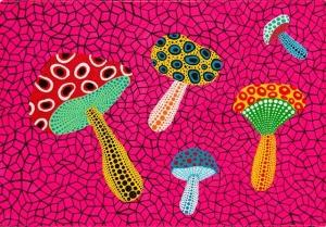 Mushrooms- Yayoi Kusama