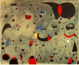 Nocturne- Joan Miro