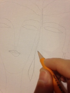Starting my sketch...