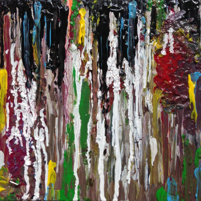 Truth Bleeds Through- Tribute to Larry Poons- Linda Cleary 2014