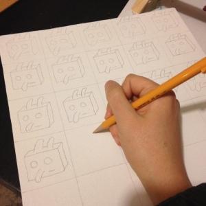 ray johnson how to draw a bunny