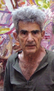 "Larry Poons- ""A rock looks just like a tree and tree just like a rock. It all depends on how you see it. They are, we are, all made up of the same stuff. And in the end, it's just paint.""- from interview in hyper allergic.com"
