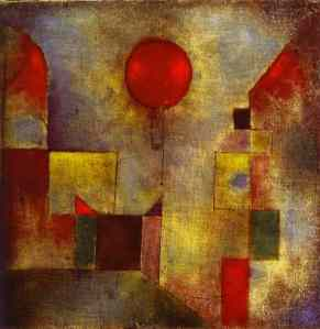 Red Balloon- Paul Klee