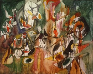 One Year the Milkwood 1944 Arshile Gorky