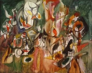 One Year the Milkwood 1944 Arshile Gorky