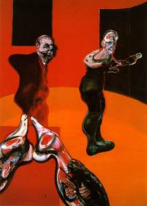 Three Studies for a Crucifixion- Francis Bacon