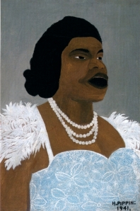Horace Pippin, Portrait of Marian Anderson, 1941.