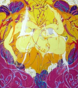 Oriental Madonna 1986- Norman Bluhm