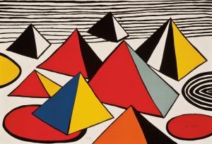Pyramids- 1975 Alexander Calder