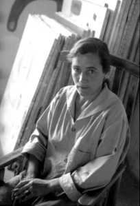Agnes Martin Photo By: Mildred Tolbert