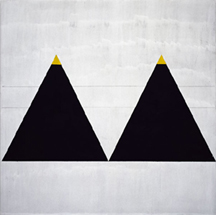 Agnes Martin- Triangles