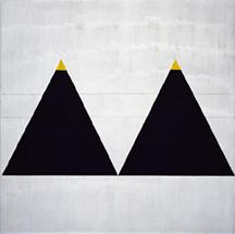 Agnes Martin- Triangles