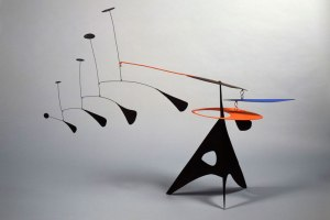 One of his mobile sculptures.