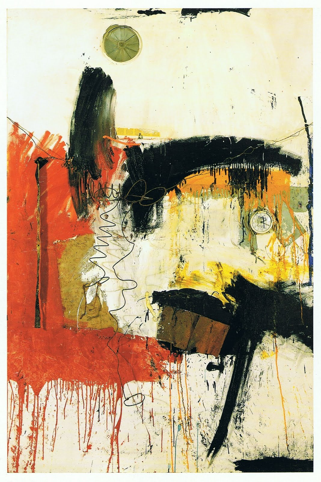 Day forty nine robert rauschenberg an empty canvas is for Call for mural artists 2014