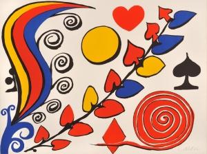 Flower 1975 Alexander Calder