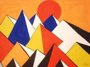 Homage to the Sun- Alexander Calder