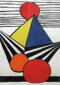 "Alexander Calder ""Untitled Pyramid"""