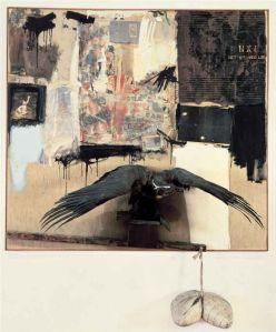 Canyon- Robert Rauschenberg 1959