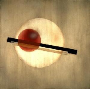 AL 3,1926 László Moholy-Nagy American, 1895-1946 Oil, industrial paints, and pencil on aluminum