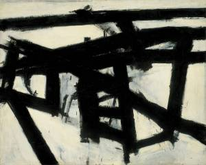 Mahoning (1956)- Franz Kline