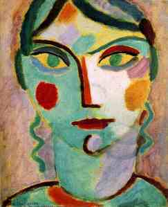 Jawlensky- Mystical Head