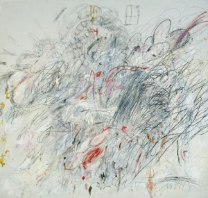 Twombly, Cy (b. 1929): Leda and the Swan, 1962