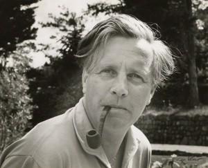 Peter Lanyon by Ida Kar, vintage bromide print, 1961