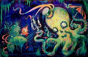 Neptune's Revenge- Camille Rose Garcia