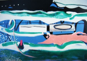Clevedon Night 1964- Peter Lanyon