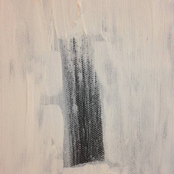 Close-Up 1 Untitled White 39- Tribute to Robert Ryman Linda Cleary 2014 Acrylic on Canvas