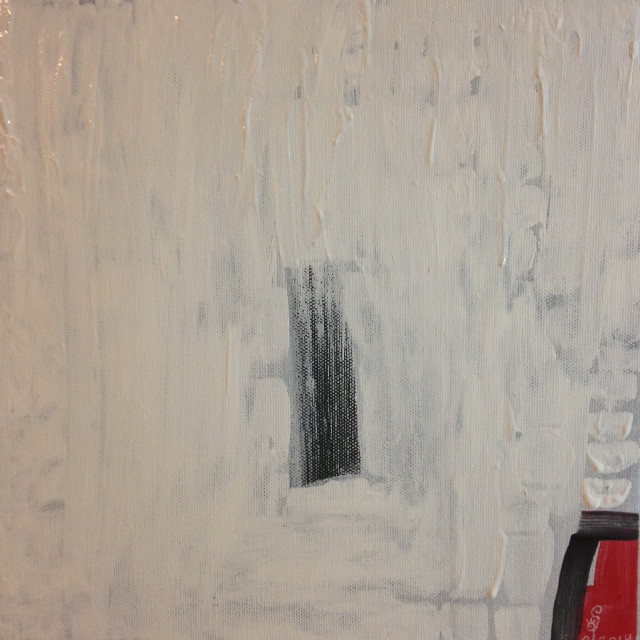 Untitled White 39- Tribute to Robert Ryman Linda Cleary 2014 Acrylic on Canvas