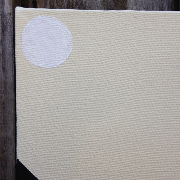 Close-Up 1 Subtle Feelings- Tribute to Agnes Martin Linda Cleary 2014 Acrylic/Graphite on Canvas