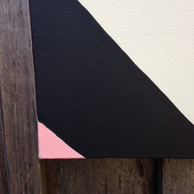 Close-Up 2 Subtle Feelings- Tribute to Agnes Martin Linda Cleary 2014 Acrylic/Graphite on Canvas