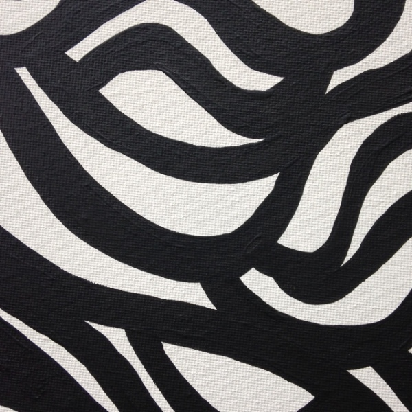 Close-Up 2 Painting 35- Tribute to Sol LeWitt Linda Cleary 2014 Acrylic on Canvas