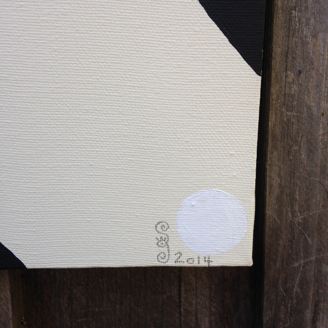 Close-Up 3 Subtle Feelings- Tribute to Agnes Martin Linda Cleary 2014 Acrylic/Graphite on Canvas