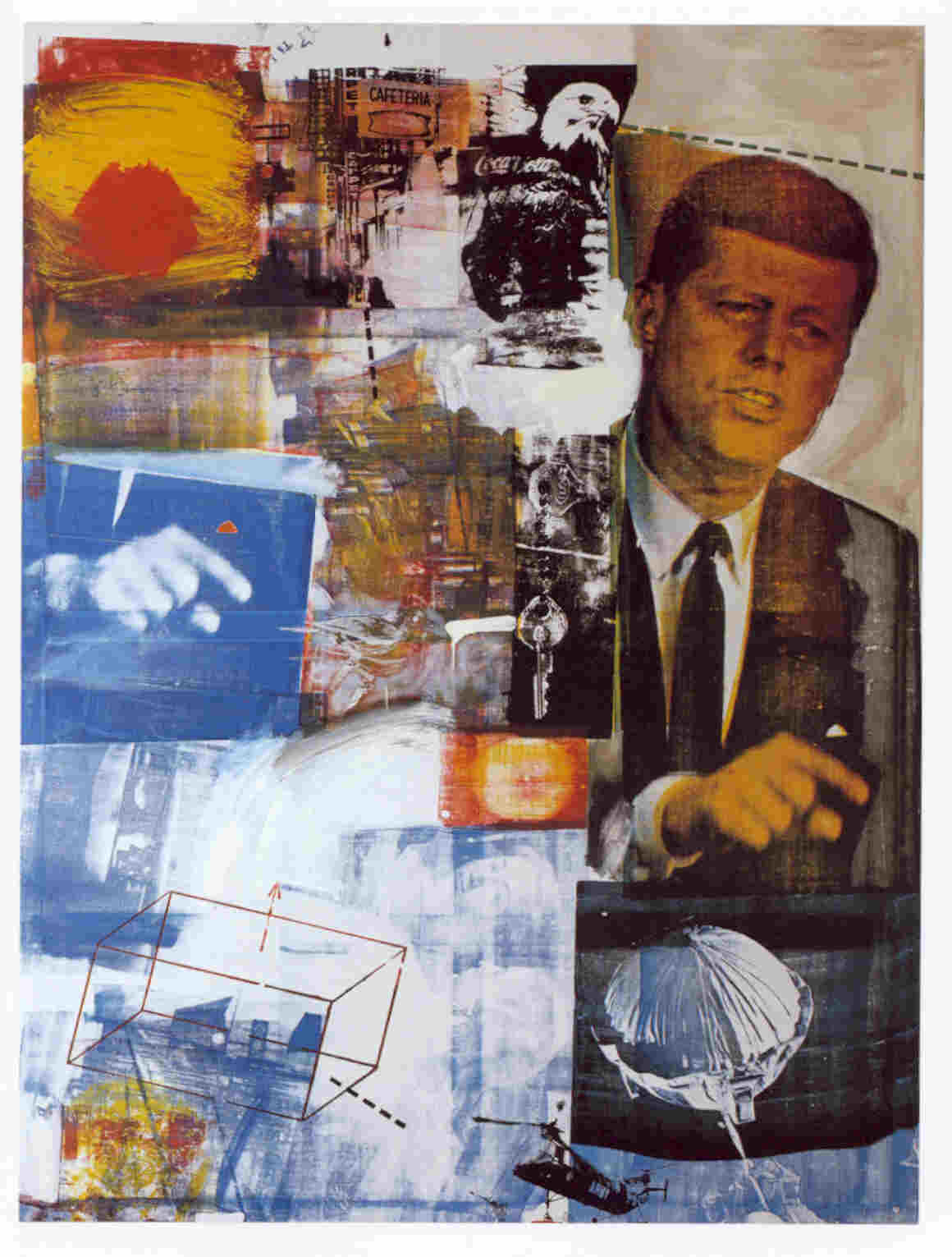 "Day Forty-Nine- Robert Rauschenberg- ""An Empty Canvas is ...
