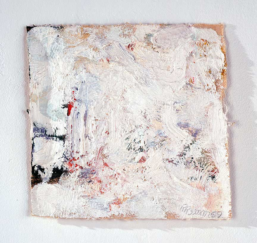 Day thirty nine robert ryman not a picture painter day for White canvas to paint