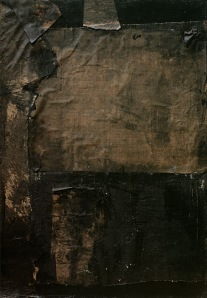 Black Paintings- Robert Rauschenberg